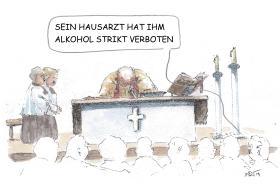 Jesus und so... Striktes Alkoholverbot