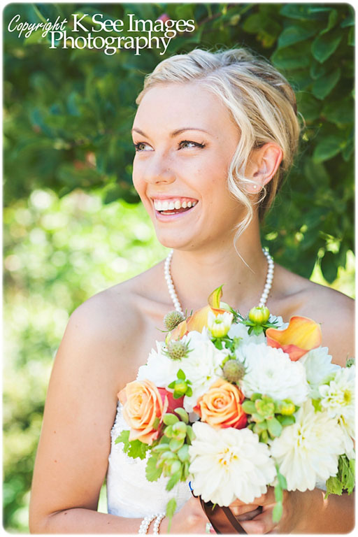 Bridal bouquet featuring dahlias, succulents, roses, calla lilies, and pods. // Design: Jessica Ormond Events & Floral Design // Photographer: K See Images Photography. Lubbock Texas boutique wedding florist.