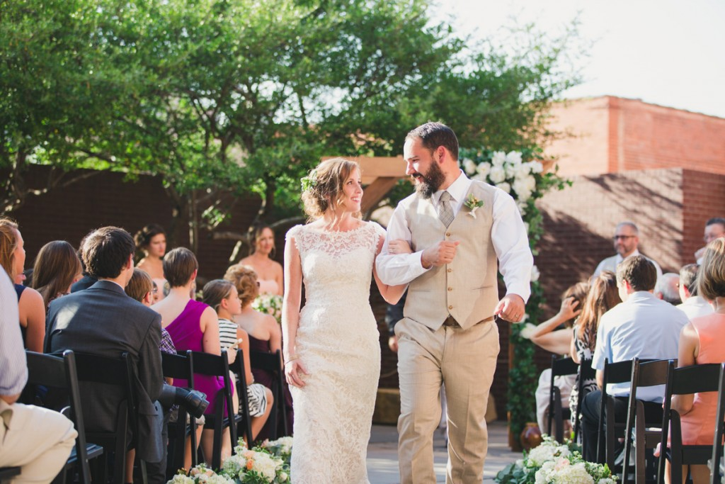 Timeless and handcrafted ceremony aisle. Jessica Ormond Events - Abilene and Lubbock Texas boutique wedding florist and planner. Mia Coelho Photography.