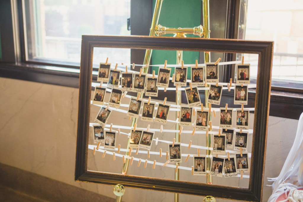 Polariod guest book. Jessica Ormond Events - Abilene and Lubbock Texas boutique wedding florist and planner. Mia Coelho Photography.