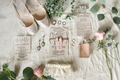 Rustic chic wedding details. Texas florist, Jessica Ormond Events. Photo by Allee J Photography.