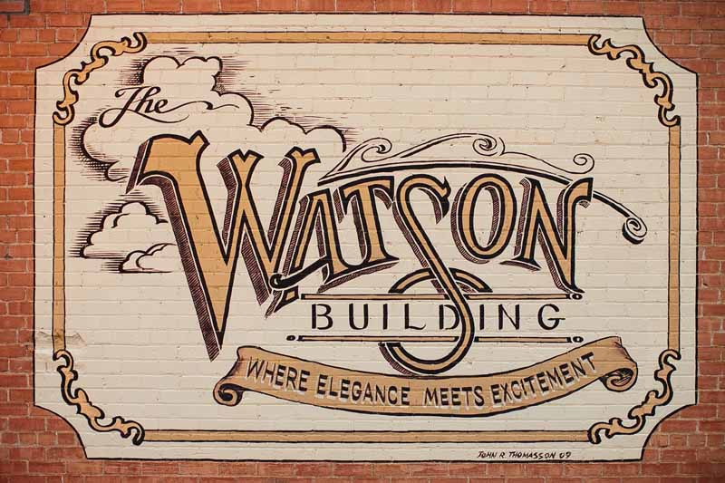 Watson Building, Lubbock wedding venue. Photo by Betsy. Texas wedding planner Jessica Ormond.