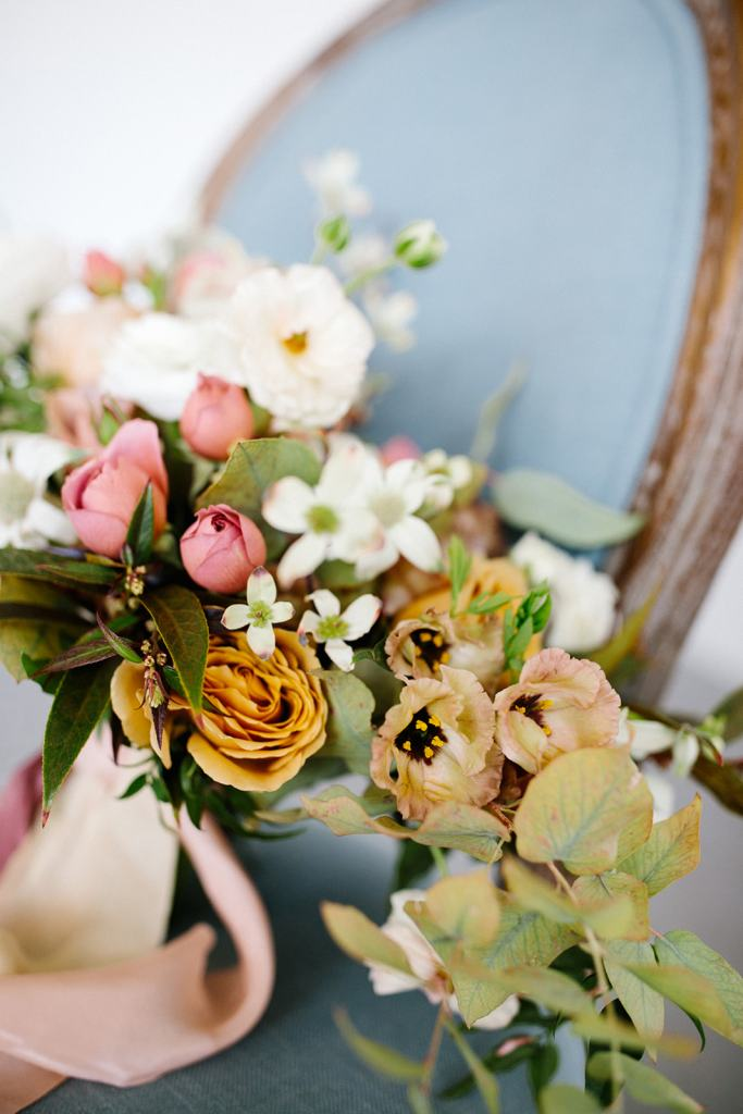 Spring flower bridal bouquet designed by Texas floral designer Jessica Ormond Events. Photo by Greenhouse Creative.