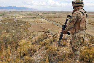 en Bolivia los grupos armados seran atacados