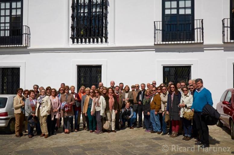 Visita Fundación Casa de Medina Sidonia IV Jornadas de Archivos Fotográficos