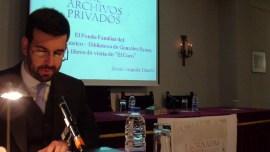 Conferencia Jesus Anguita I Jornadas de Archivos Privados