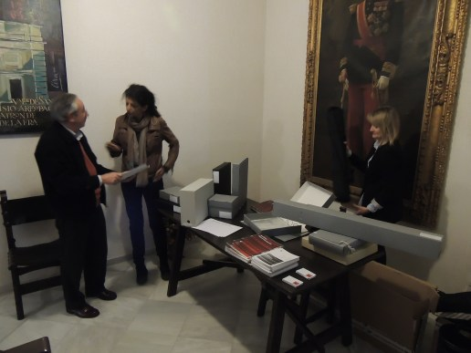 Stand Arte y Memoria II Jornadas de Archivos Privados