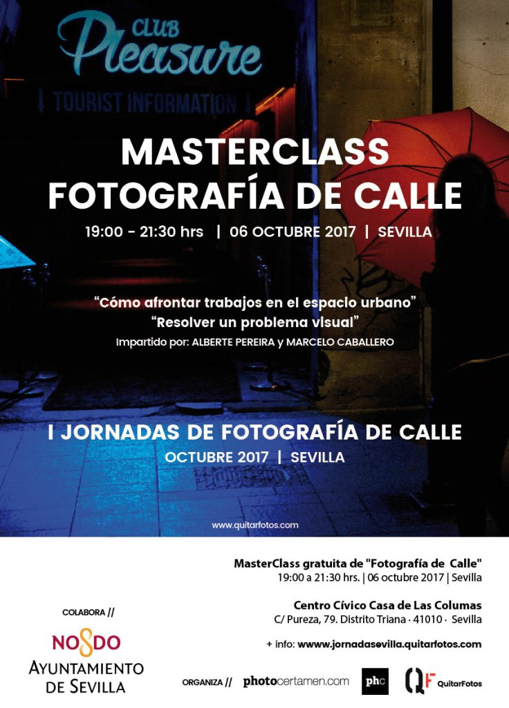 Masterclass Fotografía de Calle