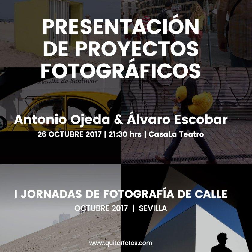 Presentación y charla proyectos Antonio Ojeda & Álvaro Escobar