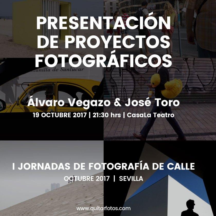 Presentación y charla proyectos Álvaro Vegazo & José Toro