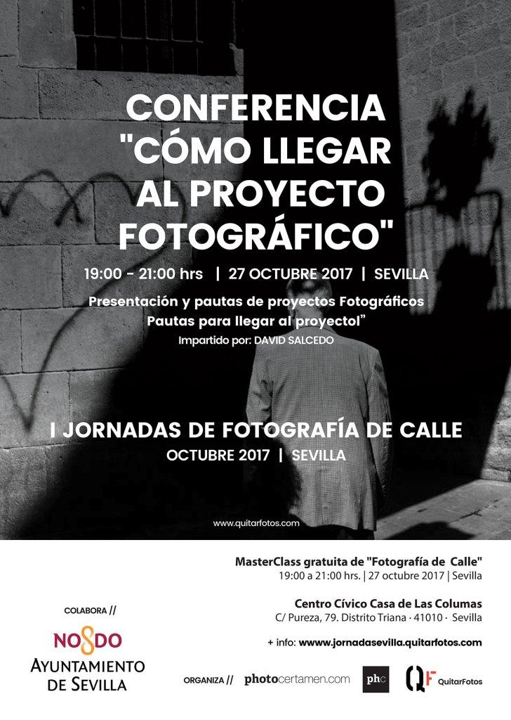 """Conferencias """"CÓMO LLEGAR AL PROYECTO FOTOGRÁFICO"""""""