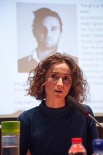 Elisabet Cantenys, responsable de programas de la Rory Peck Trust. © Joan Ribó