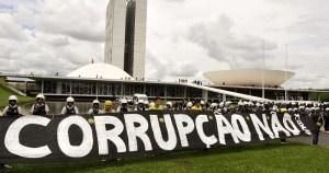 Corrupção é tida como um dos principais problemas do Brasil
