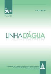 """Revista """"Linha d'Água"""" lança edição com estudos sobre argumentação e discurso"""