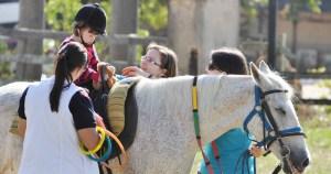 Terapia com cavalos auxilia na socialização de crianças autistas