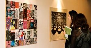 Exposição traz a arte de Maria Bonomi entre os livros