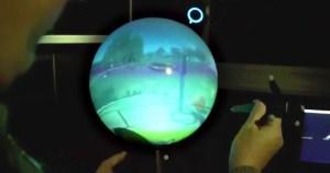 Poli e Federal do ABC desenvolvem tela em forma de esfera