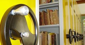 Marisa Midori destaca a biblioteca de Edgard Carone
