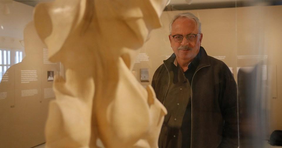 O diretor do Museu de Arte Contemporânea, Carlos Ferreira Brandão - Foto: Cecílias Bastos / USP Imagens
