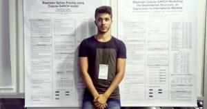 Mestrando da USP em São Carlos é premiado por pesquisa em estatística