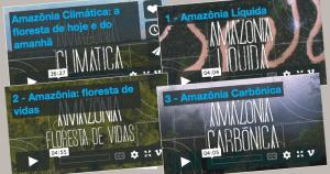Inpe produz vídeos para divulgar impactos da Amazônia sobre clima