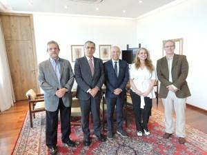 Presidente-executivo do Grupo Globo visita a Reitoria