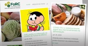 Site reúne informações sobre como cuidar da saúde e da alimentação
