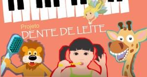 Projeto musical ensina crianças a cuidarem dos dentes