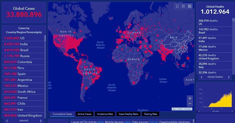 20201001 00 mapa pandemia covid coronavirus