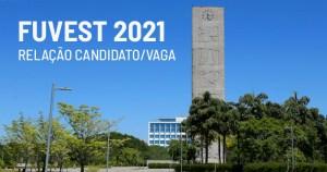 Fuvest divulga relação candidato/vaga para o vestibular da USP 2021