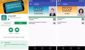 USP lança carteirinha digital para comunidade acadêmica