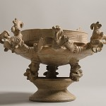 Exposição reúne 43 peças do acervo de arqueologia amazônica do MAE