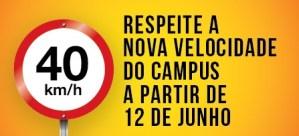 Prefeitura do Campus de SP lança campanha de conscientização no trânsito