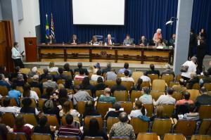 Reitor participa de audiência na Assembleia Legislativa de São Paulo