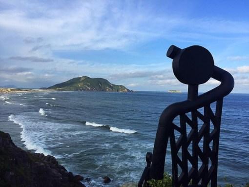 Praia do Santinho, no Norte da Ilha. Foto: Mauren Rigo/Secom