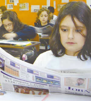 Trabalho com jornal: uma visão ampla e atualizada do mundo.