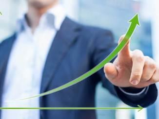 Crescimento nas vendas