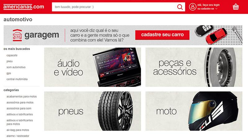 Garagem-cliente-adquirir-produtos-compatíveis-veículos-ferramenta-busca-personalizada.