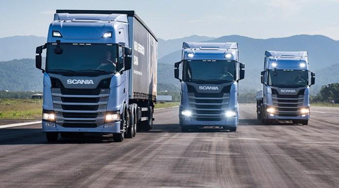 nova geração de caminhões-América