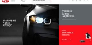 DS lança nova-site-Detroit-Catálogo Eletrônico-DS-busca de peças-nova versão-clientes-oficina-programa autodidático