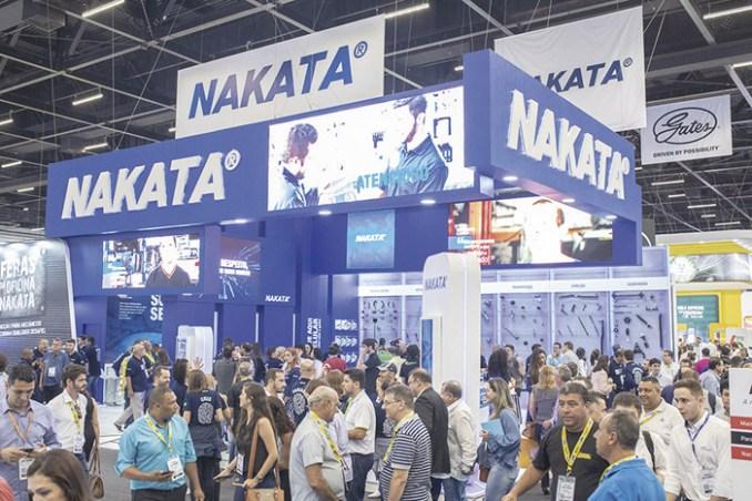 Nakata vai dobrar, centro de distribuição, componentes undercar