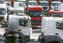 vendas de caminhões sustenta alta-renavam-Fenabrave