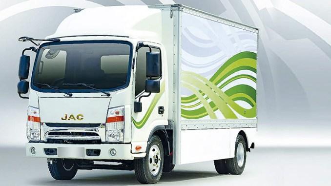 iET 1200-JAC MOTORS-caminhão-elétrico
