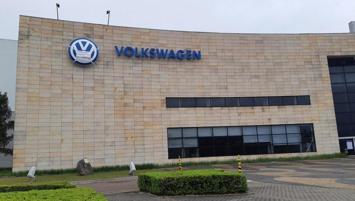 Fábrica da VW no Paraná