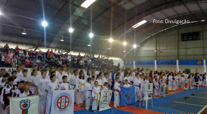 Karatê-dô Cidadão do Futuro – Fraiburgo, Lebon Régis e Santa Cecília conquista 47 medalhas em etapa de estadual