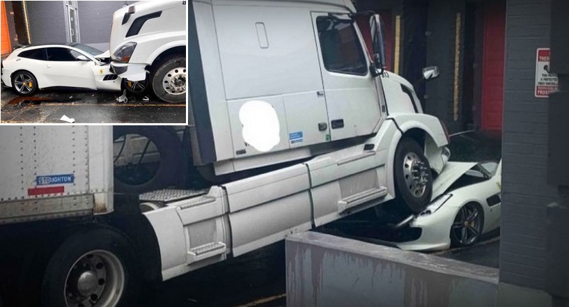 Caminhoneiro destrói carro de luxo do patrão após discussão