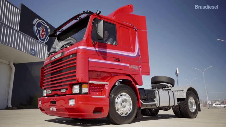 Scania 113H atinge 2,8 Milhões de quilômetros sem reformar o motor