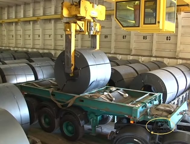 Transporte de bobinas, uma carga que exige cautela  10