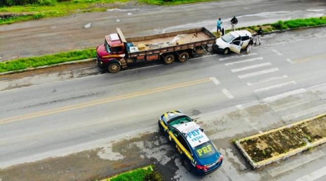 Atenção caminhoneiro PRF realiza operação nacional com foco no sistema de freios dos veículos de carga