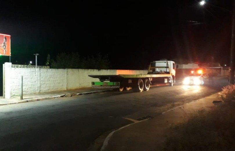 Caminhoneiro é preso após ir à boate com caminhão da empresa no MS